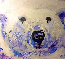 Chloe the Polar Bear by KathleenBDurst