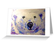 Chloe the Polar Bear Greeting Card