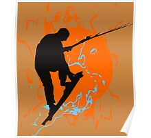 Kite Boarding Poster