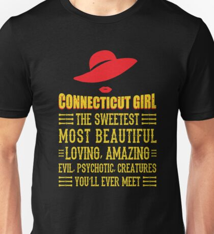 Connecticut Girl Unisex T-Shirt