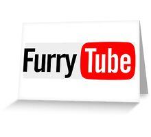 FurryTube Shirt Greeting Card