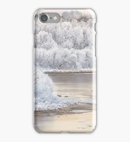 White Nemunas Shores iPhone Case/Skin