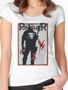 THIS IS WAR - PUNISHER Women's Fitted Scoop T-Shirt