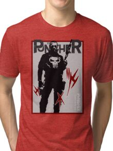 THIS IS WAR - PUNISHER Tri-blend T-Shirt