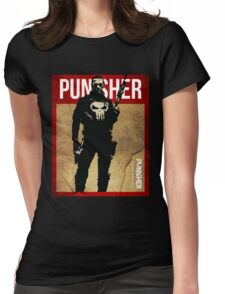 THIS IS WAR - PUNISHER 2 VINTAGE Womens Fitted T-Shirt