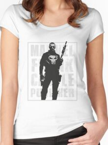 THIS IS WAR - PUNISHER 3 Women's Fitted Scoop T-Shirt