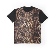 The Wood Chips Design Graphic T-Shirt