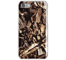 The Wood Chips Design iPhone Case/Skin