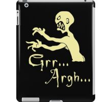 vampire slayer iPad Case/Skin