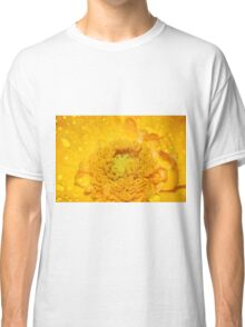 Yellow Poppy Classic T-Shirt