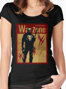THIS IS WAR - PUNISHER 4 VINTAGE Women's Fitted Scoop T-Shirt