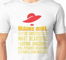 Maine Girl Unisex T-Shirt