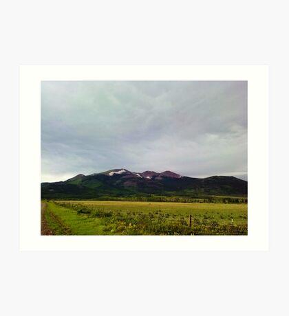 Kenosha Pass  Fairplay, Colorado Mountain Adventure Art Print