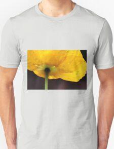 Yellow Poppy Unisex T-Shirt