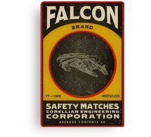FALCON BRAND SAFETY MATCHES Canvas Print