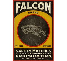 FALCON BRAND SAFETY MATCHES Photographic Print