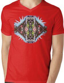 Bio Mech Animal Energy Explosion Mens V-Neck T-Shirt