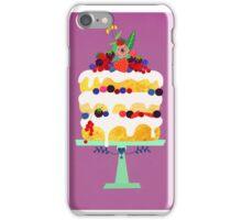 Berry Fairy cake iPhone Case/Skin