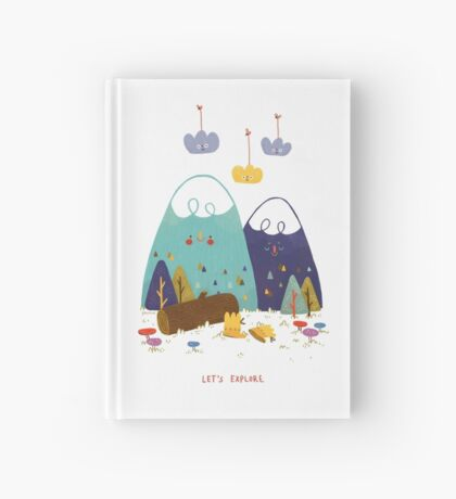 Let's Explore Hardcover Journal