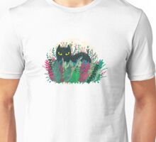 Hiding Cat Unisex T-Shirt