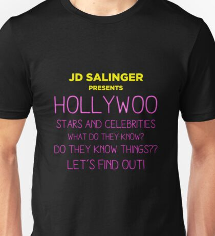 Hollywoo Stars and Celebrities Unisex T-Shirt