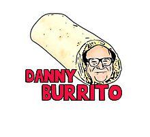 Danny Burrito (dorito) - Funny Devito parody Photographic Print