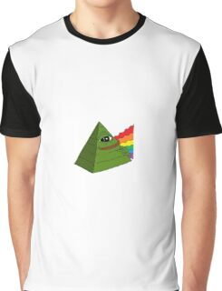 Rare Pepe - Pink Floyd Dark Side of the Moon Edition Graphic T-Shirt