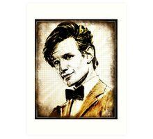 Matt Smith Dr Who Art Print