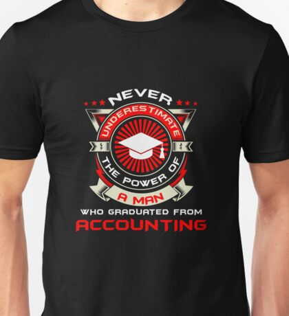 Graduate from accounting Unisex T-Shirt