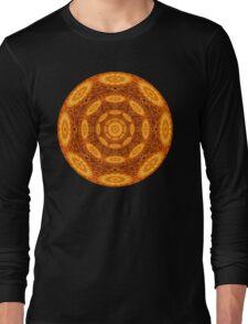 The Alchemic Eye Mandala Long Sleeve T-Shirt