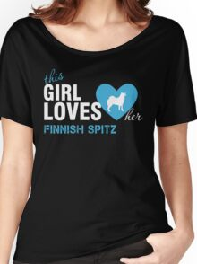 This girl loves Finnish Spitz Women's Relaxed Fit T-Shirt