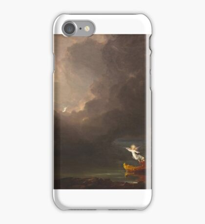 THOMAS COLE, THE VOYAGE OF LIFE, OLD AGE iPhone Case/Skin