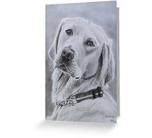 """Jasper"" - Dog portrait Greeting Card"