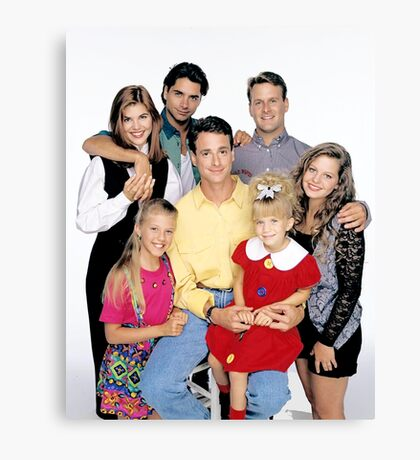 Full House Canvas Print