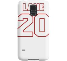 NFL Player Jeremy Lane twenty 20 Samsung Galaxy Case/Skin