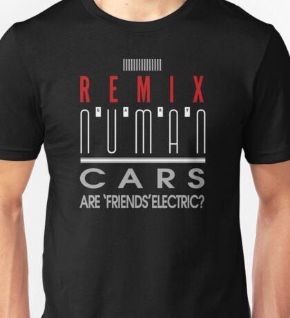 Cars 'E Reg REMIX' design Gary Numan Unisex T-Shirt