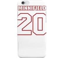 NFL Player Chase Minnifield twenty 20 iPhone Case/Skin