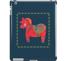 The Red Dala Horse iPad Case/Skin