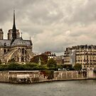 Facing Notre-Dame From Pont De La Tournelle - 1 ©  by © Hany G. Jadaa © Prince John Photography