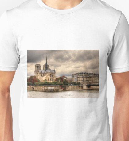 Facing Notre-Dame From Pont De La Tournelle - 2 ©  Unisex T-Shirt