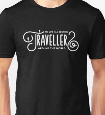 Travellers Lovers Unisex T-Shirt