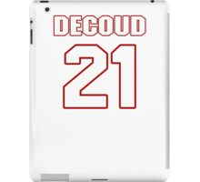 NFL Player Thomas DeCoud twentyone 21 iPad Case/Skin