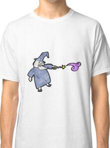 cartoon wizard Classic T-Shirt