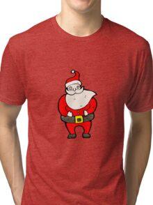 santa claus cartoon character Tri-blend T-Shirt
