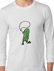 cartoon dancing monster Long Sleeve T-Shirt