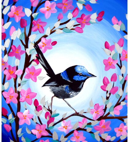 Superb Fairy Wren Sticker