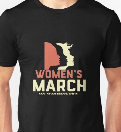 womens march on washington Unisex T-Shirt