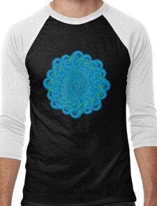 Tidal Mandala Men's Baseball ¾ T-Shirt
