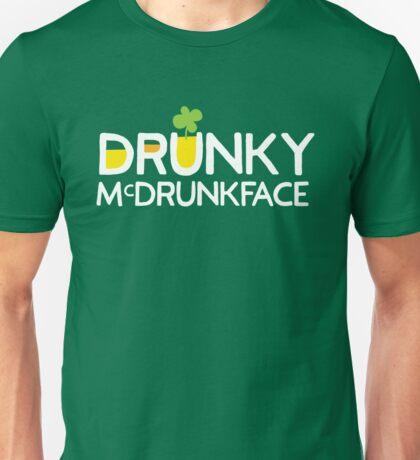 DRUNKY McDRUNKFACE Unisex T-Shirt