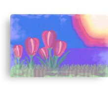 FLOWERS IN THE SUN V3 - 023 Canvas Print